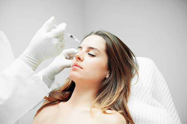 Botox Injections for skin wrinkling, frown lines and crow's feet